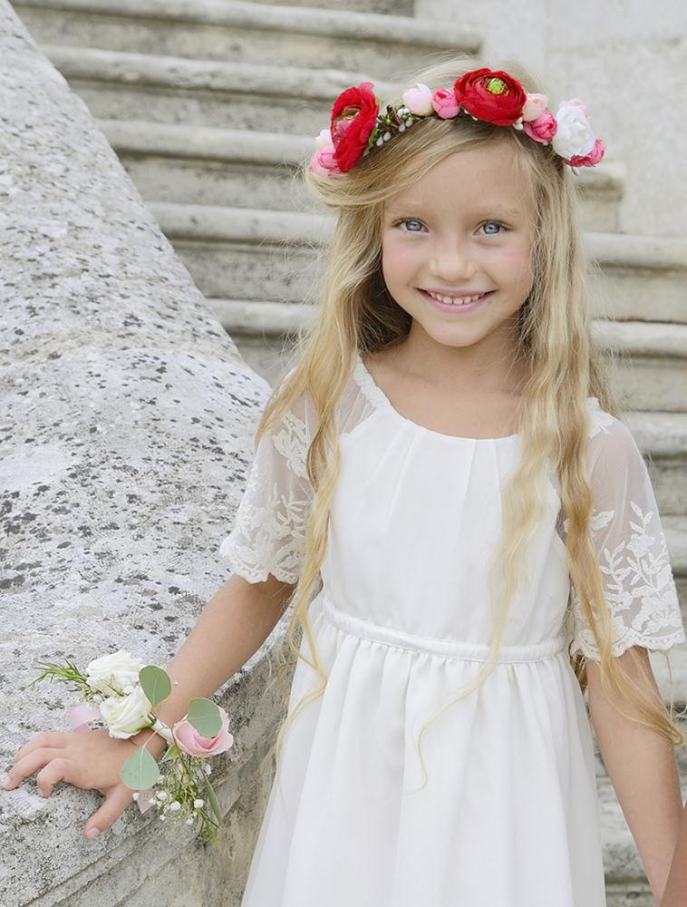 Couronne Nina2 Et Bracelet Fleuriste Nature Des Sens